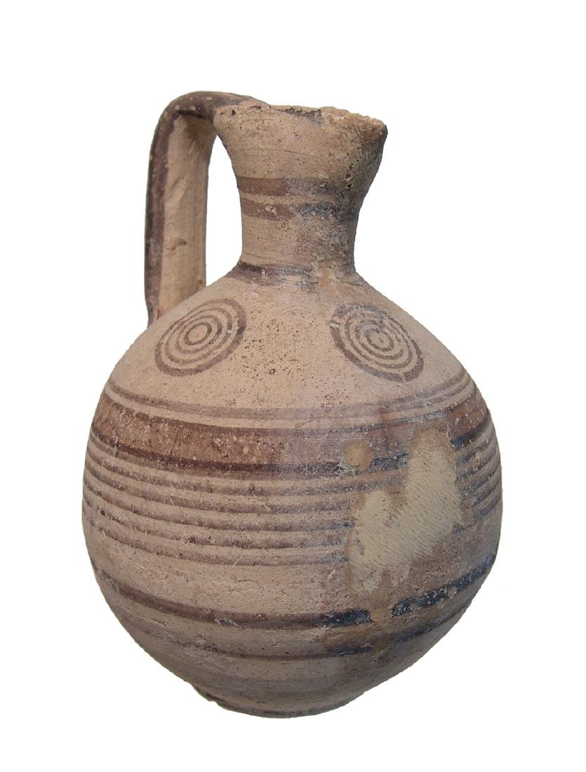 A nice Cypriot Bichrome pitcher - 4