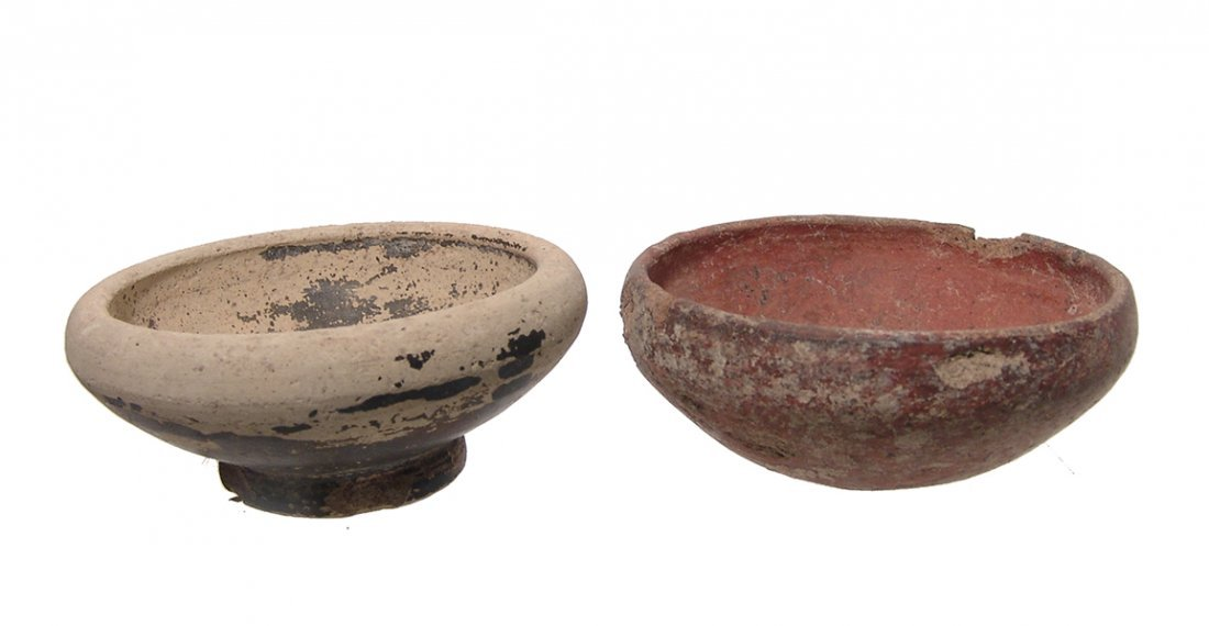 A lot of 4 Greek ceramic vessels - 5