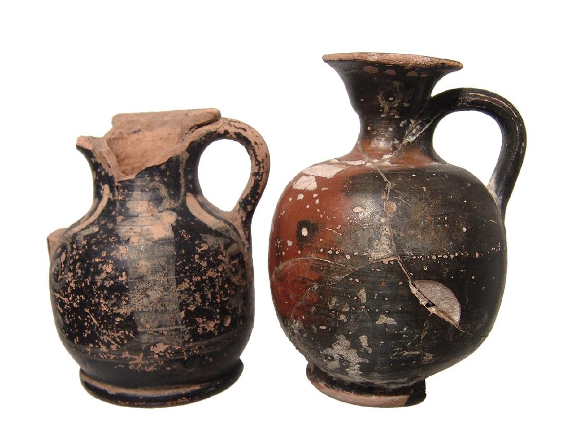A pair of Greek squat lekythoi - 3