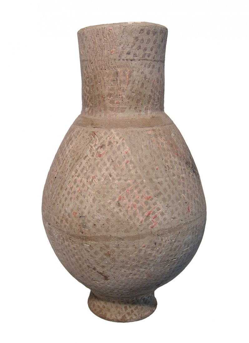 An Islamic glazed ceramic jar - 2