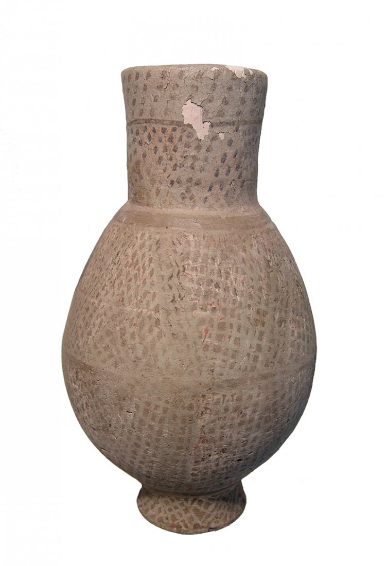 An Islamic glazed ceramic jar - 3