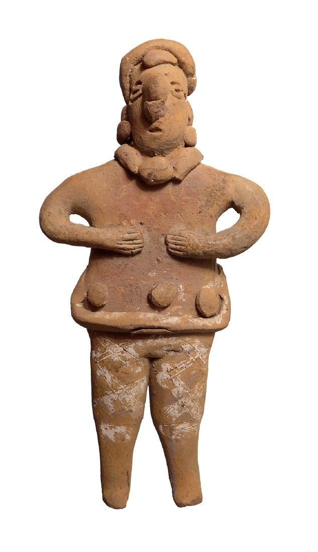 A nice Colima 'Autlan' type ceramic figure - 3