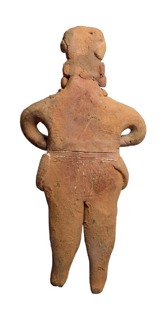 A nice Colima 'Autlan' type ceramic figure - 4