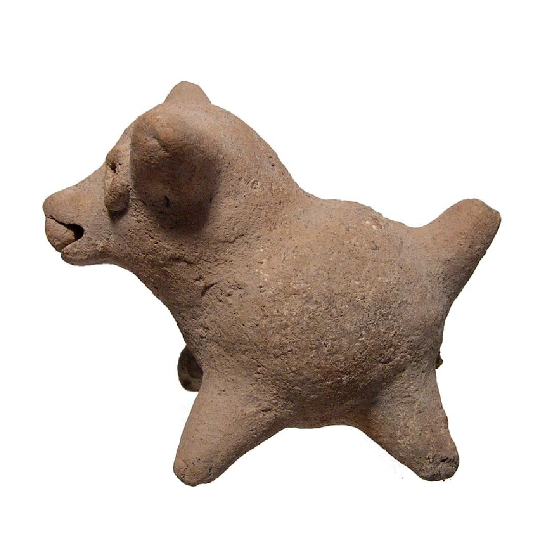 A cute Colima fat little dog rattle, West Mexico - 2