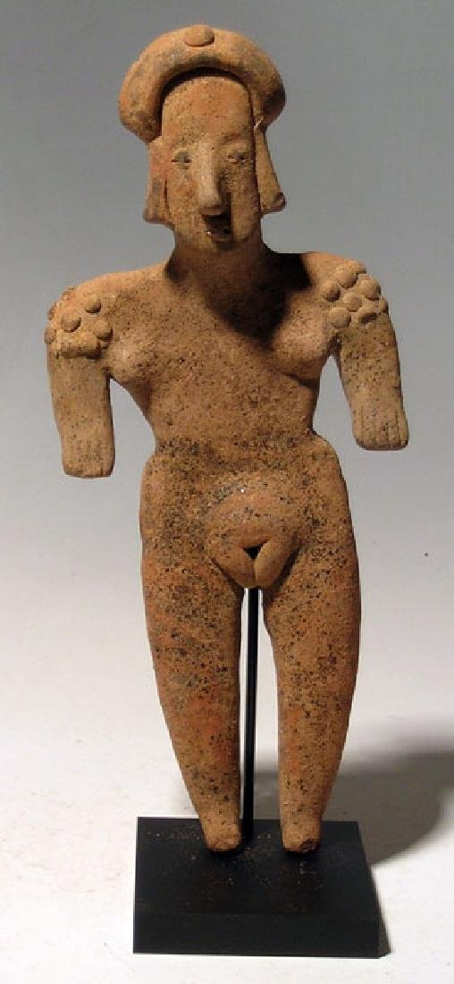 A large Colima female figure from West Mexico