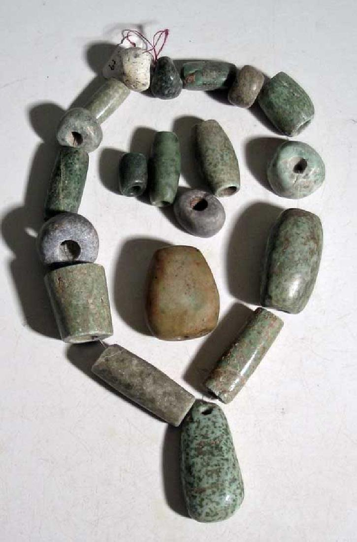 A strand of fine Maya beads from Mexico - 2