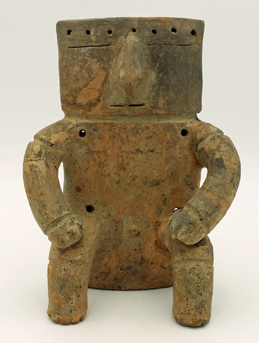 Quimbaya male figure from the Middle Cauca region