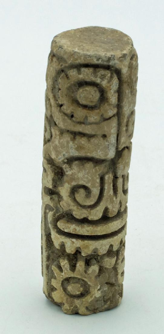 A choice LaTolita sello (roller stamp) from Ecuador