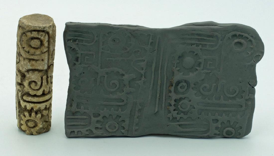 A choice LaTolita sello (roller stamp) from Ecuador - 3