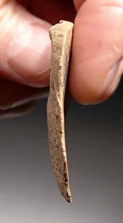 Mousterian Neanderthal discoidal flint scraper tool - 6