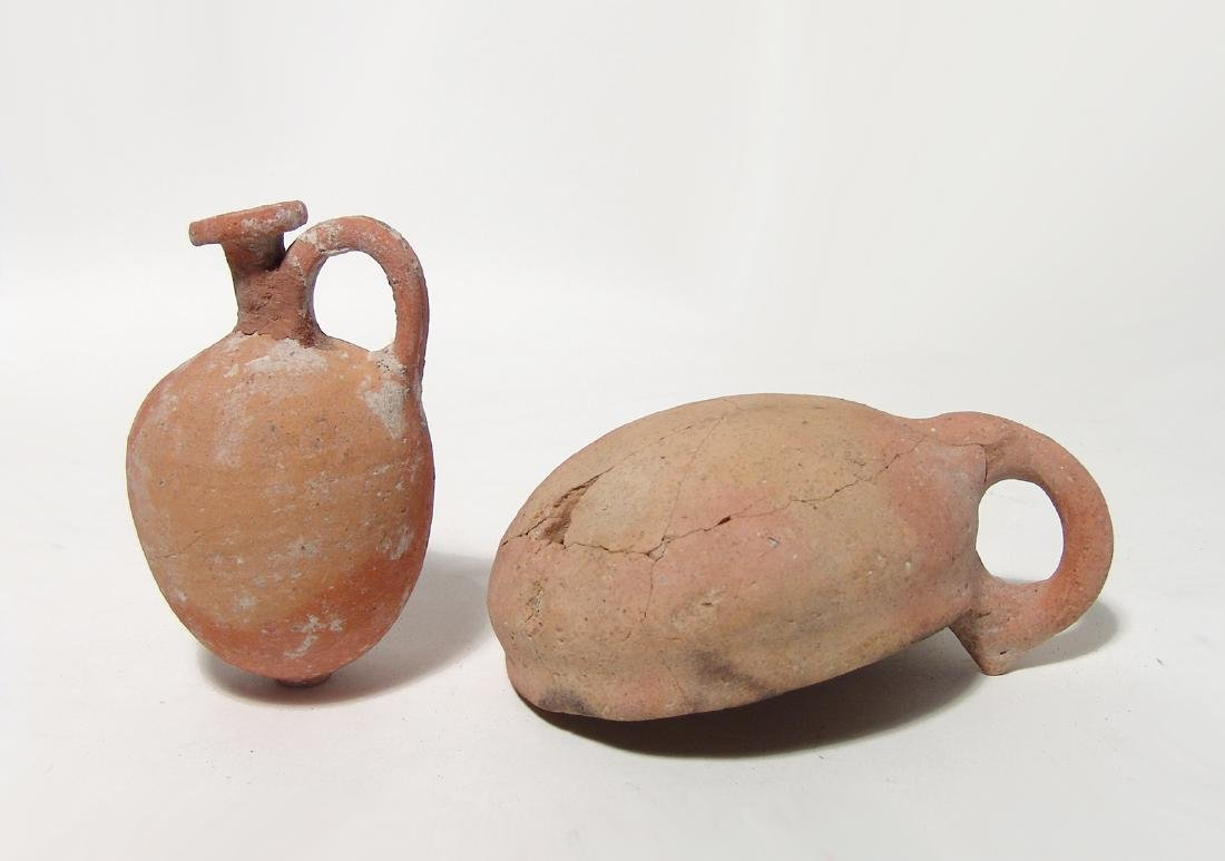 Pair of Bronze Age ceramic vessels, Holy Land - 3
