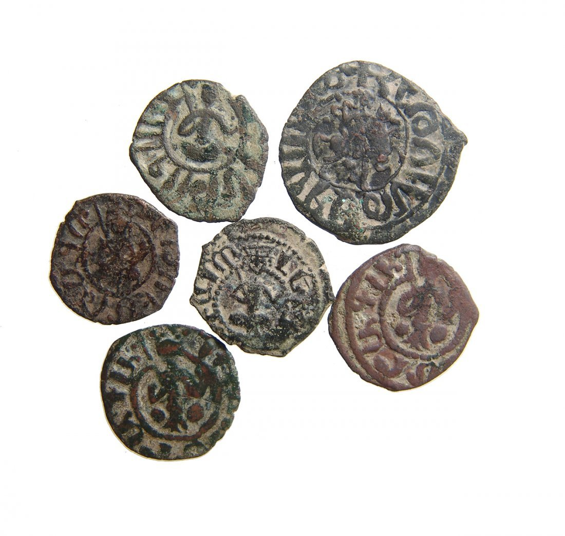A group of 6 Medieval Armenian coins