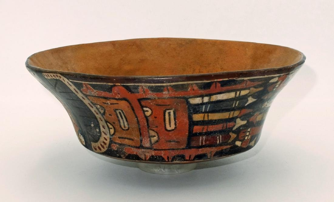 A large Nazca bowl depicting the Spotted Cat - 2