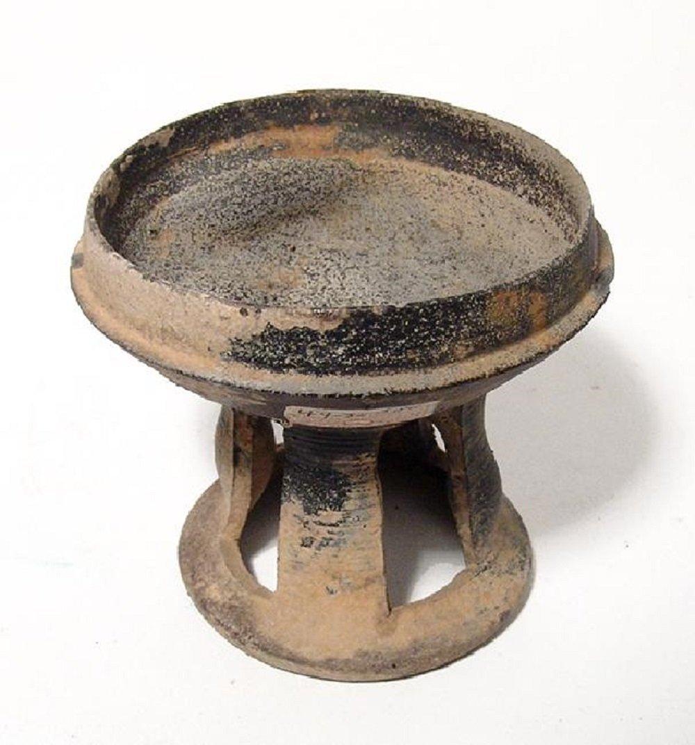 A nice Korean stone-ware pedestal bowl, Silla Period - 5