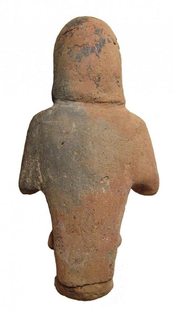 An Egyptian terracotta Reis or overseer ushabti - 3