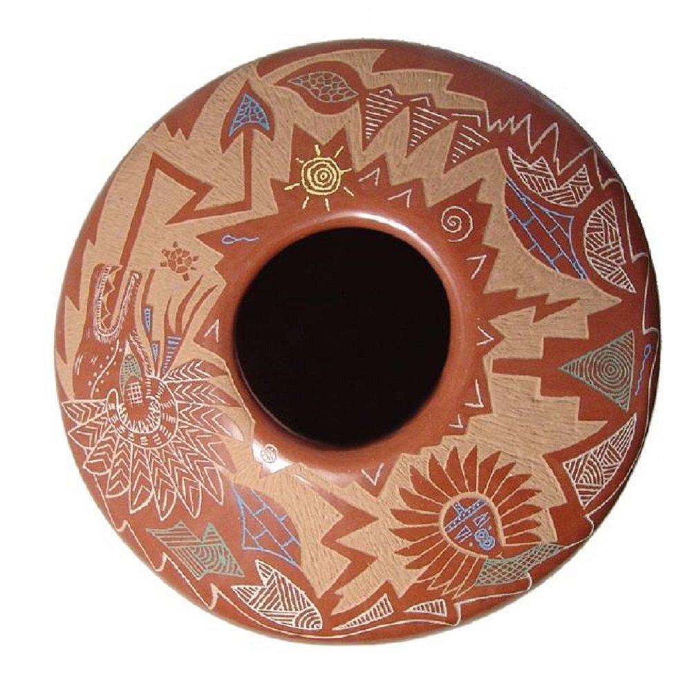 A beautiful seed pot by Roy Tsigowanu and Kwa Povi