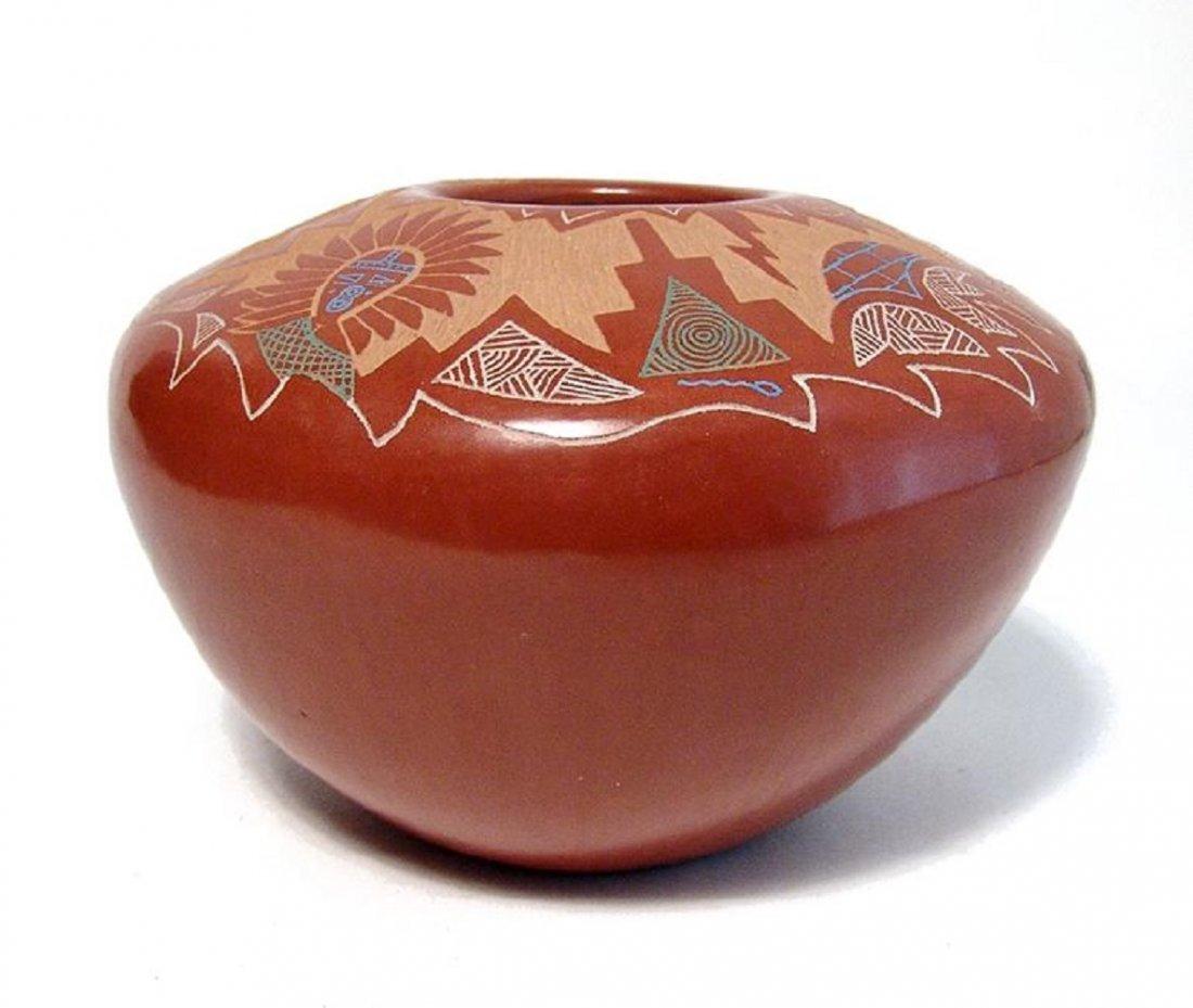 A beautiful seed pot by Roy Tsigowanu and Kwa Povi - 2