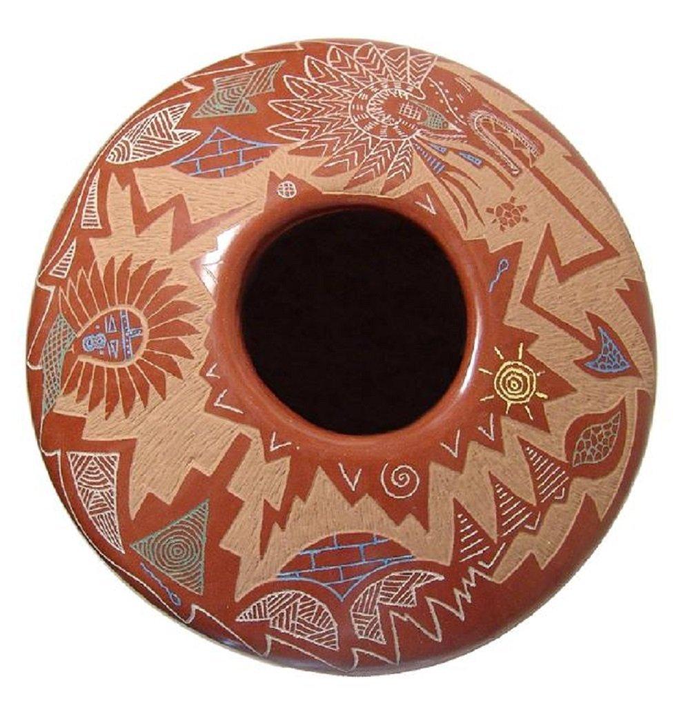 A beautiful seed pot by Roy Tsigowanu and Kwa Povi - 3
