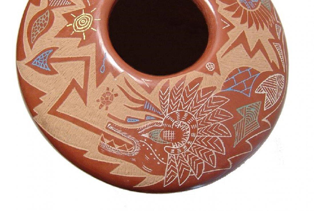 A beautiful seed pot by Roy Tsigowanu and Kwa Povi - 4