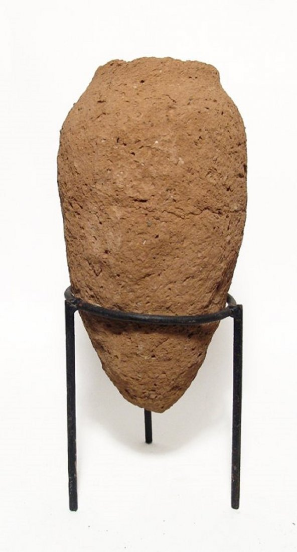 A large Egyptian Predynastic clay vessel