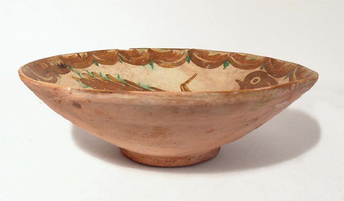 Large and vibrant Nishapur ceramic bowl,12th Century AD - 3