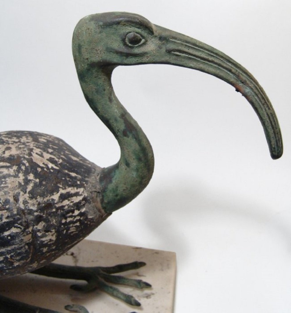Large Egyptian ibis in ancient style, mid-20th Century - 2