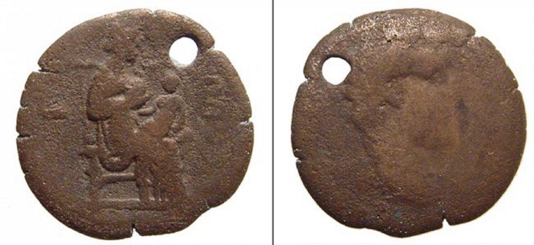 A nice Roman Egyptian coin pendant