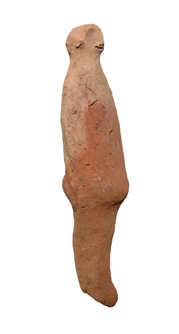 A hand-modeled Egyptian terracotta ushabti - 3