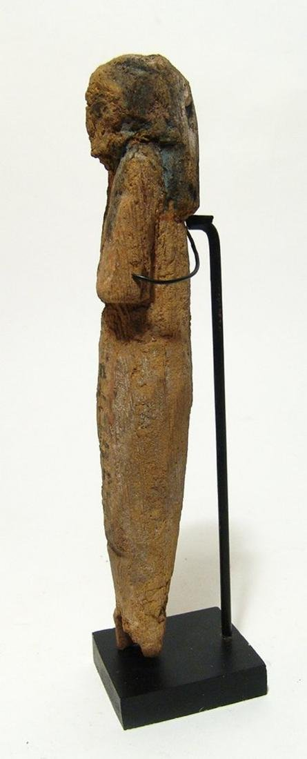 Egyptian wooden ushabti, Late New Kingdom - 2