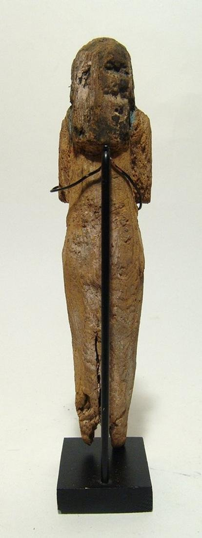 Egyptian wooden ushabti, Late New Kingdom - 3