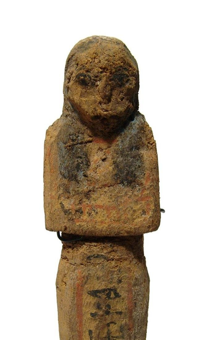 Egyptian wooden ushabti, Late New Kingdom - 4