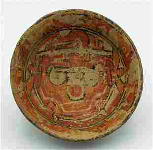 A fine Nicoya polychrome bowl from Nicaragua