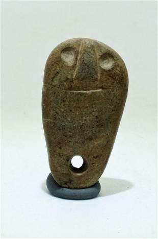 A rare stone Vicus pendant