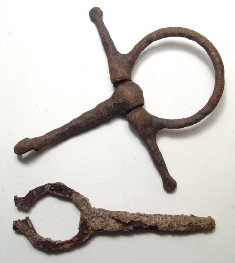 A great group of iron Civil War relics - 2