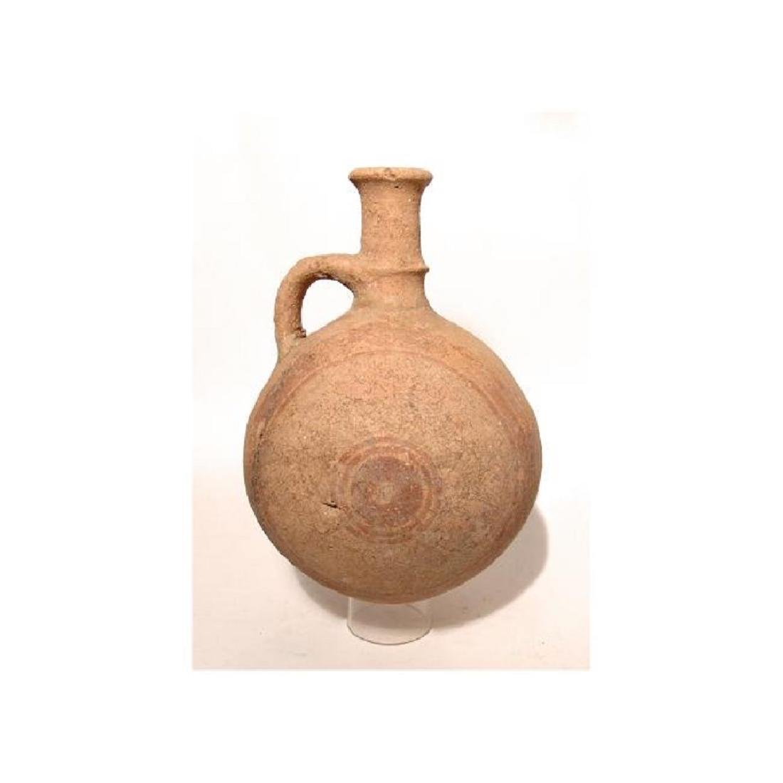 A large Cypriot round-bodied jug