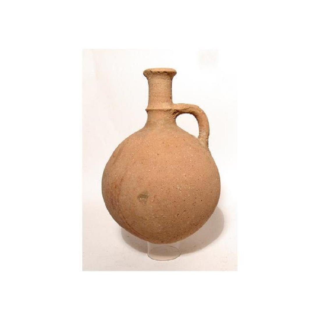 A large Cypriot round-bodied jug - 3
