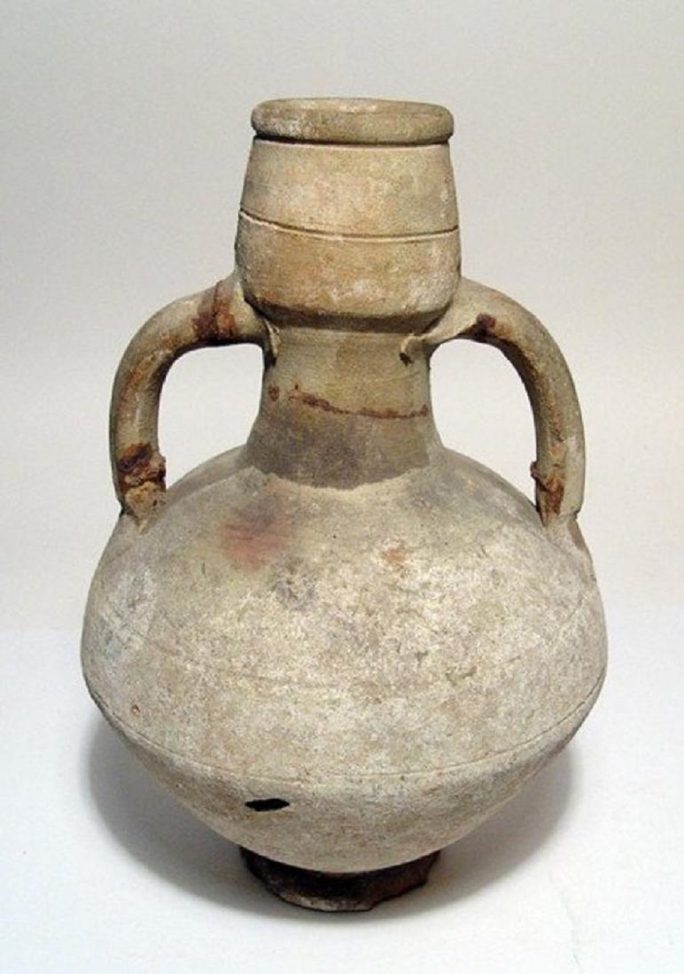 A nice grey-ware amphora, Eastern Mediterranean
