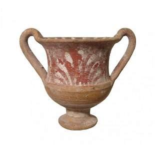 A Canosan ceramic kantharos, Magnia Graecia