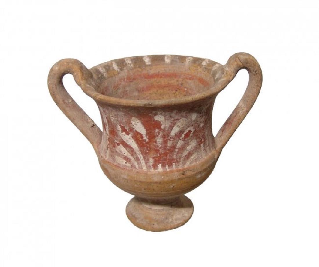 A Canosan ceramic kantharos, Magnia Graecia - 4