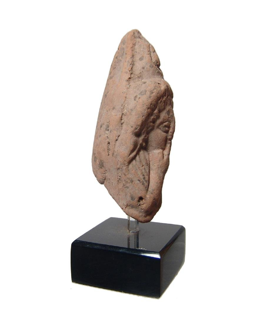A Romano-Egyptian terracotta head of Harpokrates - 2