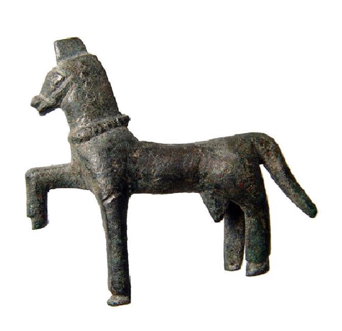 A Thracian Greek bronze horse figurine - 3