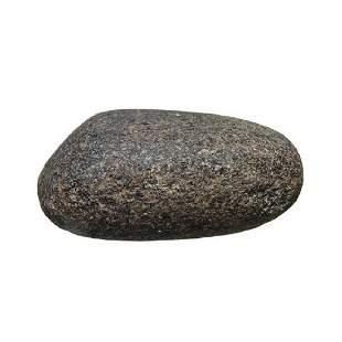 A granite mulling stone, Costa Rica