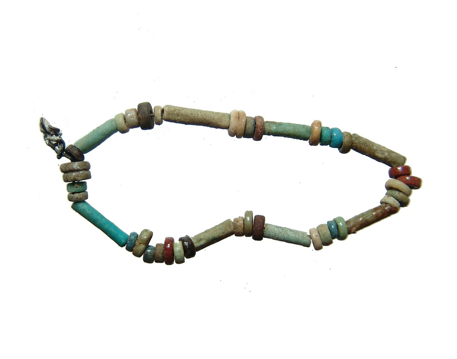 A cute little strand/bracelet with Egyptian beads