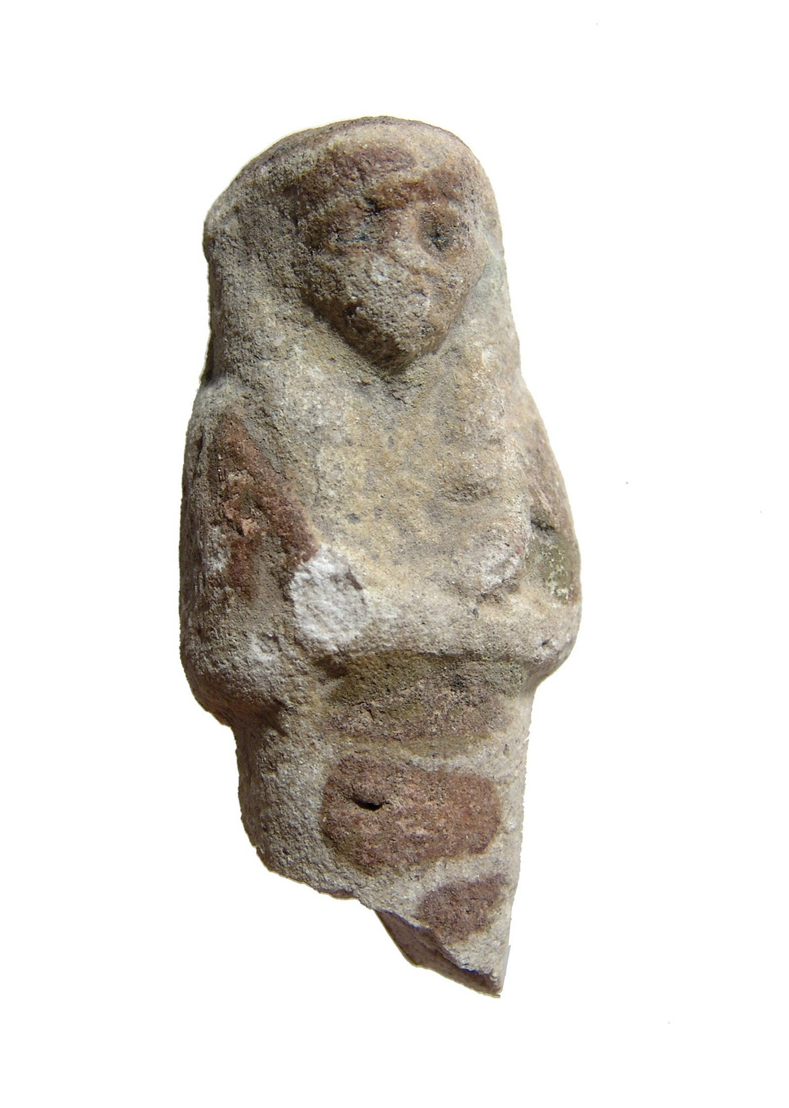 Egyptian glazed ushabti fragment, 3rd Intermediate