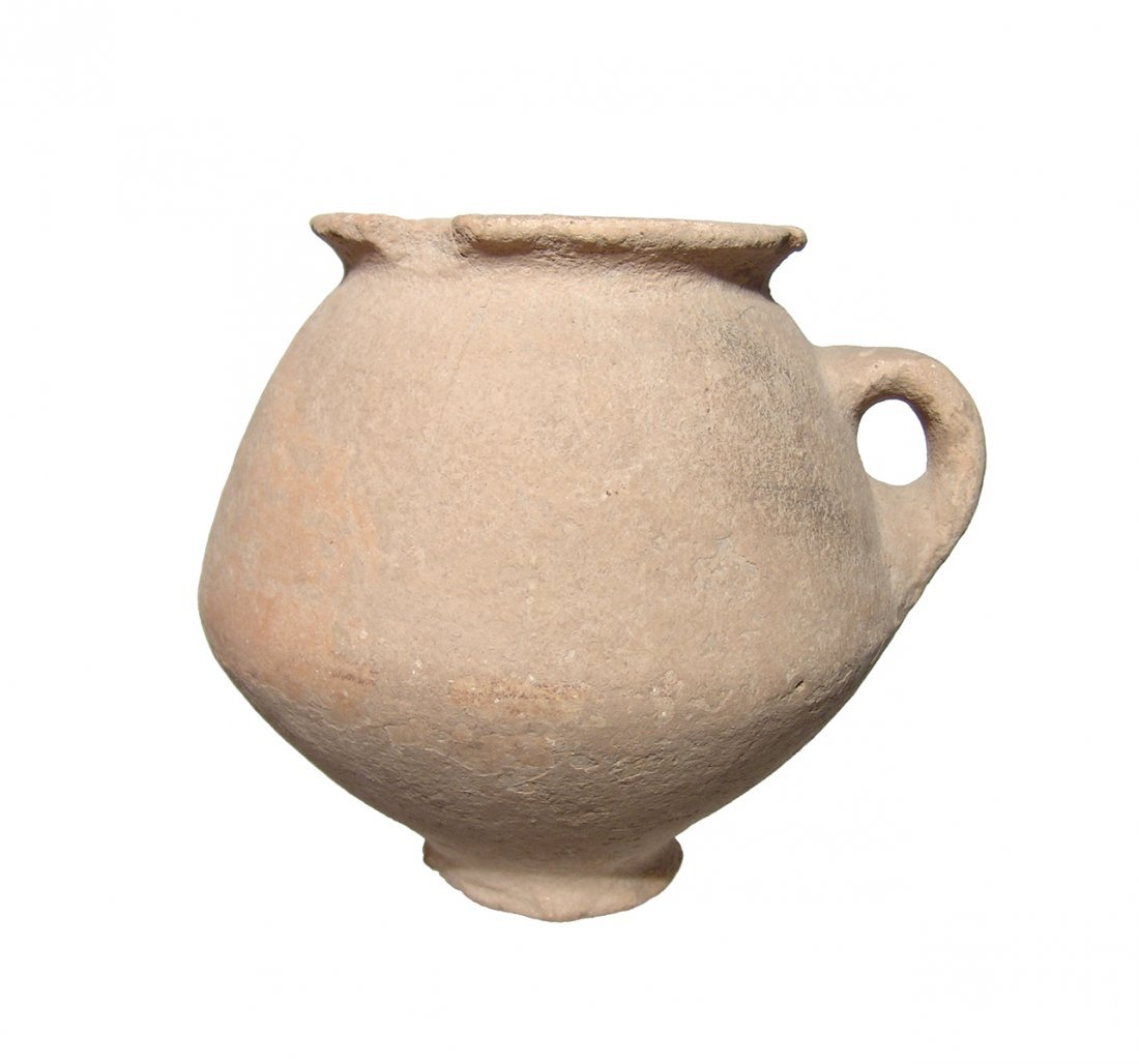 A large Late Bronze Age jar from the Holy Land