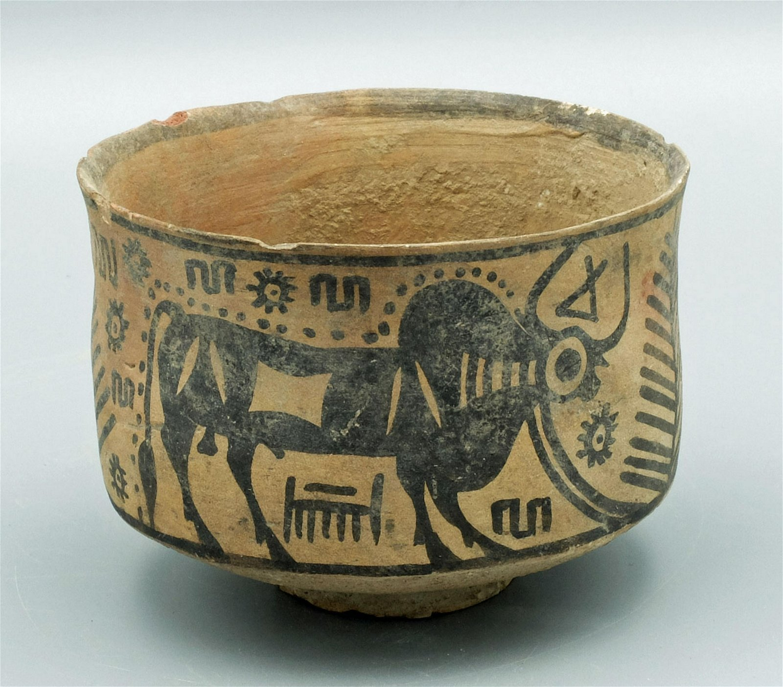 Amri-Nal bowl from the Indus Valley with bulls