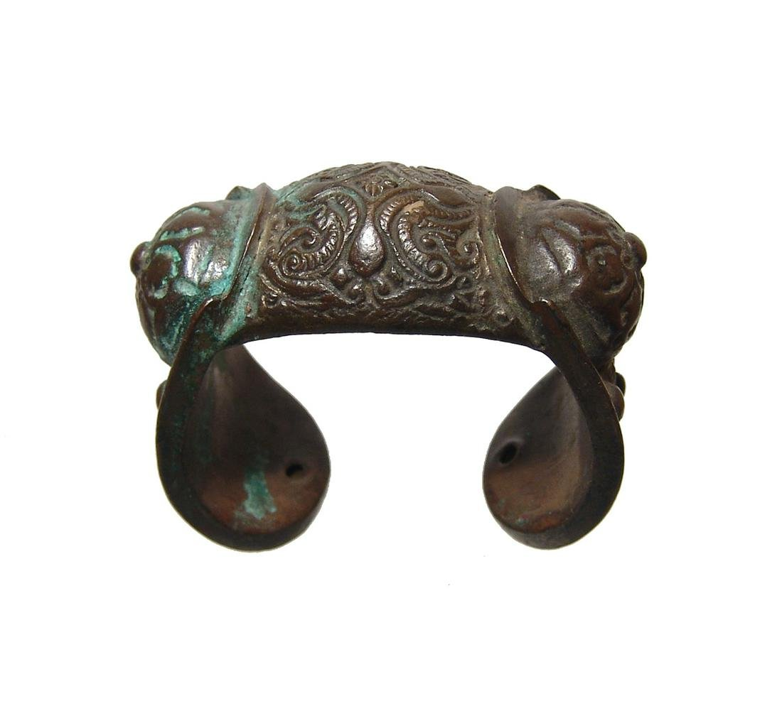 A nice Macedonian / Thracian bronze fertility bracelet