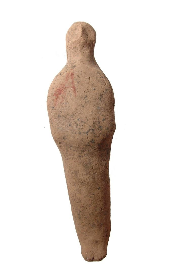 An interesting Egyptian terracotta ushabti