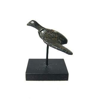 A well-detailed Roman bronze bird applique