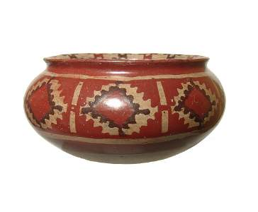A lovely Chupicuaro painted jar, Mexico